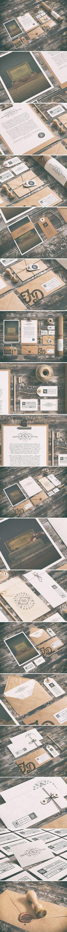 New Self ReBranding By Faridz Design Suite | #stationary