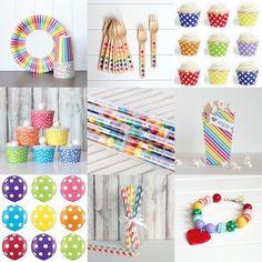 rainbow party supplies tomkat studio