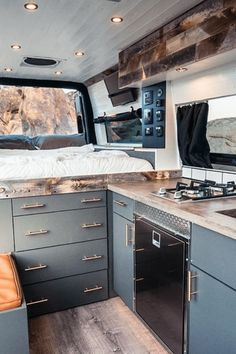 50 Camper Van Interiors That Could Replace A Tiny Home - House Topics