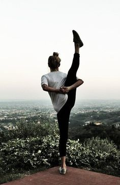 Cool yoga pose. want to be able to do this