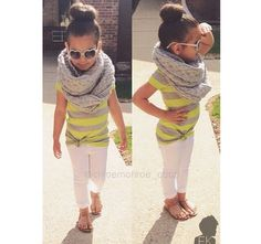 Little girls fashion. Adorable kids fashion