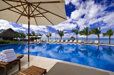 It's another wonderful Wednesday at #SecretsAuraCozumel! #travel #blue #pool #paradise