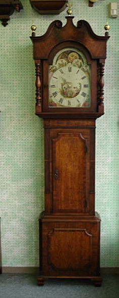English Long Case, Circa 1865-1878.......on my wish list......has been for a loooooong time.