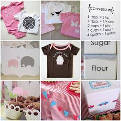 Great blog with Silhouette Cameo ideas, I can see some decorated onesies in my future!