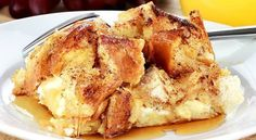 French Toast Casserole with Cream Cheese. Easy make the night before for a great breakfast!
