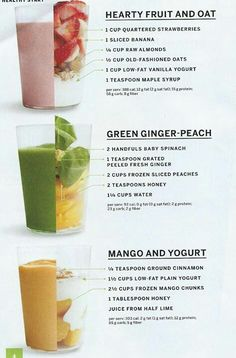 I'm trying to force myself to like spinach in smoothies.. But it's difficult. Ah, health.