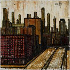 Bernard Buffet: New York City  (1958)