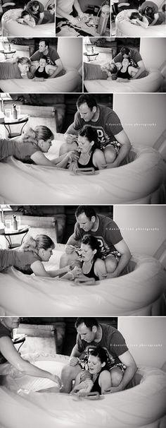 The home birth of baby Rohan by Danielle Lynn Photography #homebirth #birthphotography