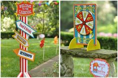 birthday parti, party games, carniv parti, circus carniv, carnival games, parti idea, carnival signage, circus party, circus parti