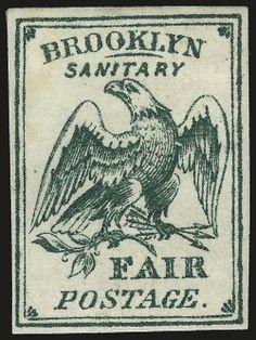 Brooklyn and Long Island Sanitary Fair, (15c) Green (WV4)