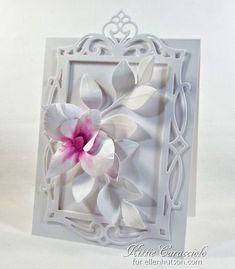 Fancy Framed Orchid - made by kittie747