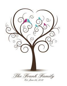 tattoo idea, famili tree, teacher appreciation gifts, tree with birds tattoo, family bird tattoos