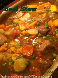 Best Beef Stew EVER!!!  Deep Covered Baker to the rescue!!!