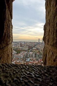 This view is from Sagrada Familia.
