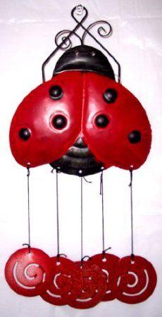 Ladybug windchimes