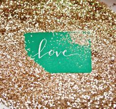 sparkles...