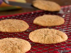Snickerdoodles - These homemade, made-from-scratch cookies are both low carb and low fat, making you feel less guilty about grabbing a few extra. Plus, they only need to cook for 5 minutes, so you can make batch after batch in a hurry!