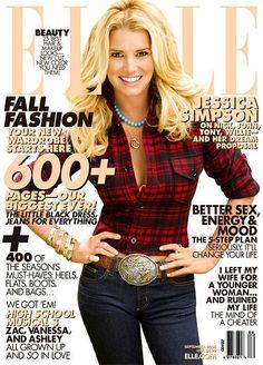 Elle US September 2008 - Jessica Simpson