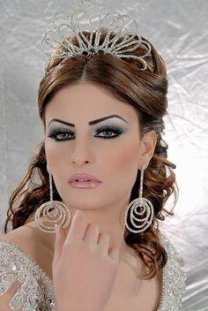 arabic lebanese asian indian bridal makeup hair. Black Bedroom Furniture Sets. Home Design Ideas