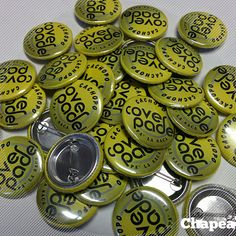 #Chapitas, #Chapea, #Badges, #Buttons