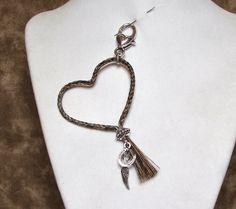Braided Horsehair Heart