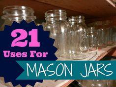 21 ways to use Hometalk's favorite jars.
