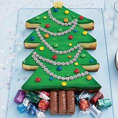 Christmas Tree Cheesecake