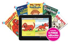 Download Scholastic's eReading app Storia, and get these 5 eBooks for free!