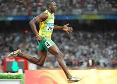 Usain Bolt is one of the fastest men in history. Unbelievably gifted.