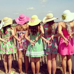 A day at the races with your sisters!