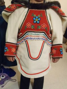 Inuit made & beaded Amautiq by Veronica Ell :) More