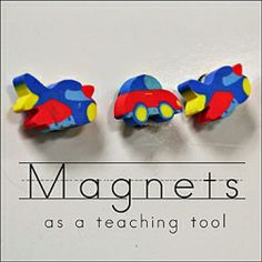 Ways to play and learn with magnets