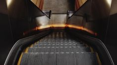 Animated photography ― Escalators - Julien Douvier