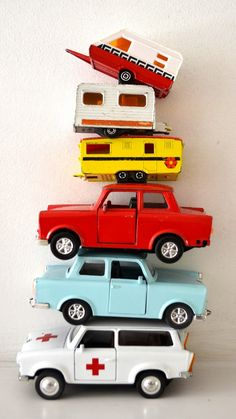 Vintage Toy Cars. A #CanDoBaby! fave.