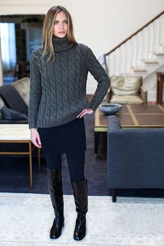 Layering Dress - Jet Double-faced   Emerson Fry