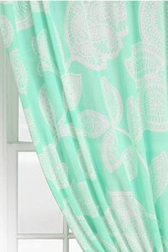 Mint curtains on pinterest - Mint green kitchen curtains ...