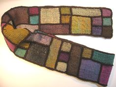 Malarky Crafts - Weavette Stained Glass Scarf