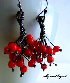 Twisted Vines Sterling Silver Handcrafted Wire by SkyAndBeyond, $51.00