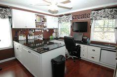 studio, scraproom, craft space, scrapbook rooms, craftroom, scrap room, dream rooms, crafts, craft rooms