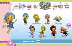 Fifi and the Flowertots . Serie de tv con recursos educativos y actividades for learning english  para los más pequeños. http://www.fifiandtheflowertots.com/index_uk.html#/flowertots/