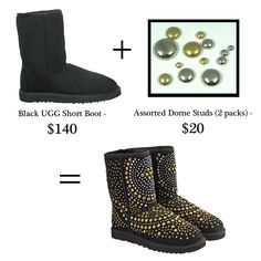 Must do this to my Daughters black uggs