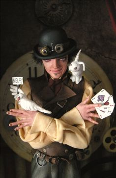 The Magician 3 by ~wingdthing clay, galleries, doll men, toy art, fantasi nicol, art doll, west doll, nicol west, west art