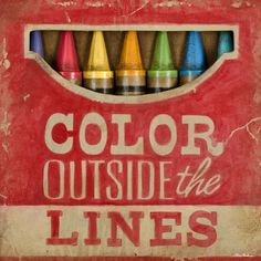 colors don't like to stay in between the lines