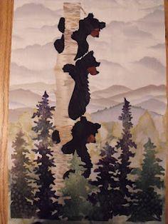 Bear Block quilt