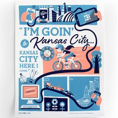 I'm Goin' to Kansas City… | Tad Carpenter Creative