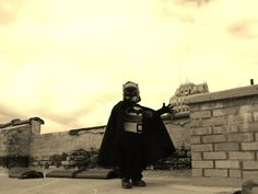 """Misty King submitted this photo taken in October 2010 on the roof of Erebus Haunted Attraction in Pontiac. King wrote: """"Not all the news out of Pontiac has to be bad, this little guy is fighting crime and scaring the 'yell' outta Oakland County."""