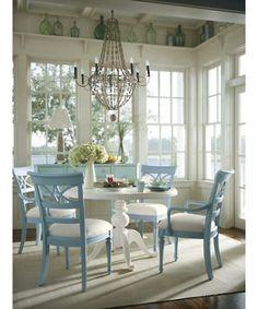 Coastal Dining Room | fabuloushomeblog.comfabuloushomeblog.com