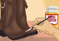 How to Repair a Scrape on Faux Leather Shoes -- via wikiHow.com