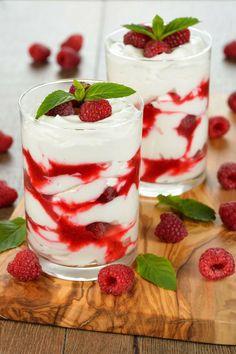 Raspberry White Chocolate Mousse Dessert Recipe i I also subsititute strawberrys for rasberrys