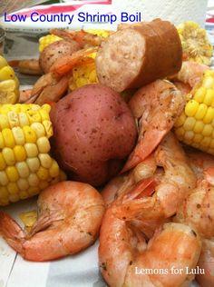 Low Country Shrimp Boil www.lemonsforlulu.com